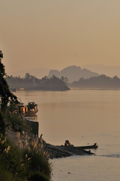Lovely riverside light. Photo taken in or around Hpa-an, Burma_myanmar by Mark Ord.