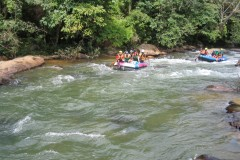 Tubing and rafting