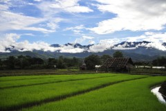 One-day Pai by scooter itinerary