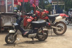 Motorcycling in and around Sihanoukville