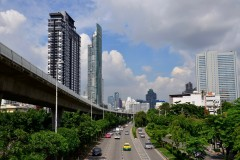 Bangkok by Skytrain and Subway