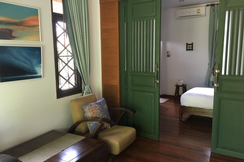 Very comfortable rooms at Ban Thai.