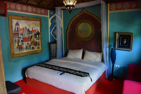 Not your typical Ko Samui room.