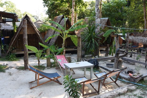 Camping at Lipe Camping Zone is one of the island's cheapest sleeps.