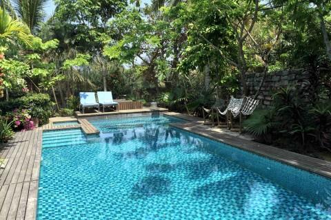 Plenty of character -- plus a pool -- at Rock Villa.