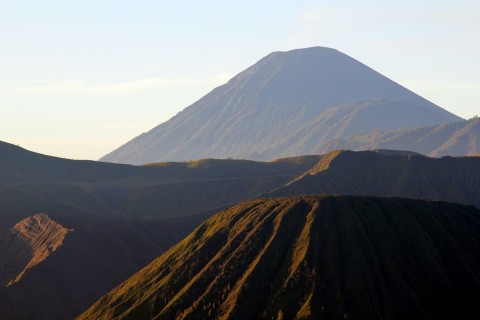Now that is a volcano.