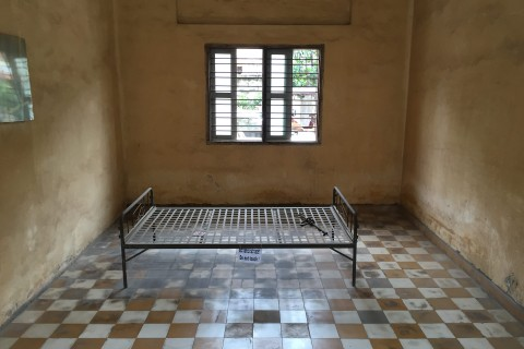 The incredibly moving Tuol Sleng.