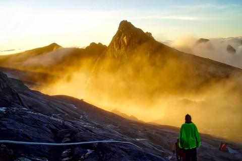 Breathtaking Mount Kinabalu.