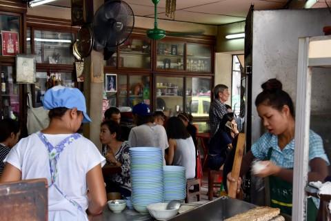 Cooking up a storm at Nai Meng.