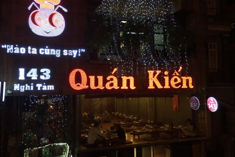Ants and more on the menu at Quan Kien.