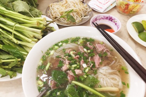 Long-running popular choice, Pho Hoa Pasteur.