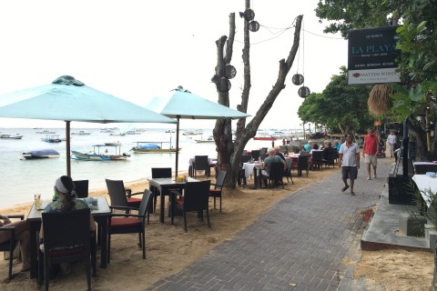 La Playa is a fine pick for south Sanur.