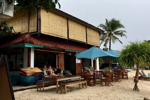 Relax beachside at Ginger and Jamu.