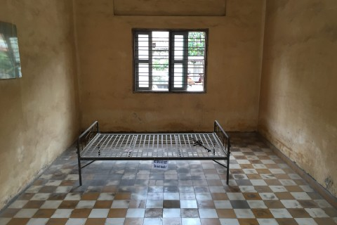 The shocking Tuol Sleng.