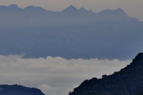 Doi Ang Khang skyline.