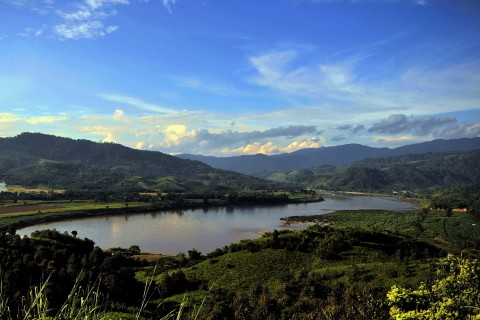 Exploring the countryside. Photo taken in or around Chiang Khong, Thailand by Mark Ord.