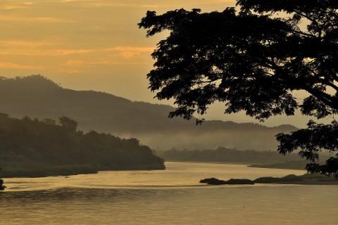 Chiang Khong, early morning Photo taken in or around Chiang Khong, Thailand by Mark Ord.