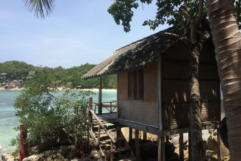 Old school at Rocky Resort, Ao Thian Ok. Photo taken in or around Ko Tao, Thailand by Stuart McDonald.