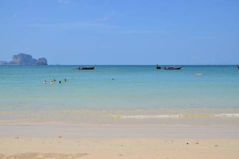 Have a float. Photo taken in or around Railay Beach, Thailand by David Luekens.