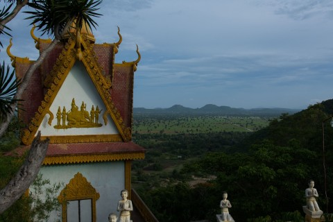The views from the hill-top pagodas are never less than lovely.