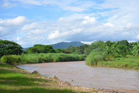 River scenes. Photo taken in or around Pai, Thailand by Mark Ord.