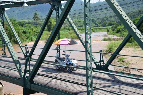 Never far from something sweet in Pai. Photo taken in or around Pai, Thailand by Mark Ord.