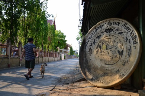 History everywhere. Photo taken in or around Sukhothai, Thailand by David Luekens.
