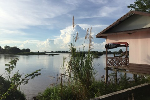 Serene. Photo taken in or around Don Dhet, Laos by Cindy Fan.
