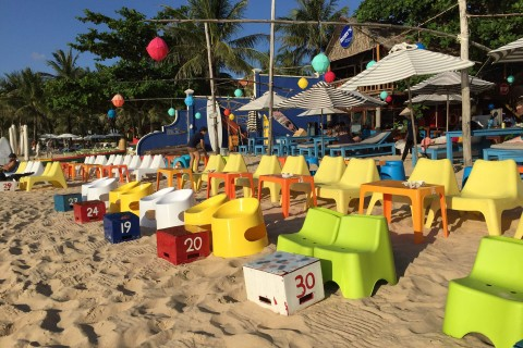 Enjoy Phu Quoc's unspoiled beaches … (that is a joke) Photo taken in or around Phu Quoc Island, Vietnam by Cindy Fan.