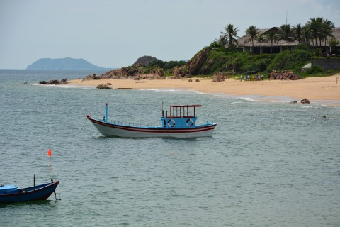 Be sure to head down to Bai Xep. Photo taken in or around Qui Nhon, Vietnam by Cindy Fan.