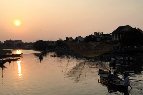 A Hoi An sunset cruise is essential. Photo taken in or around Hoi An, Vietnam by Cindy Fan.