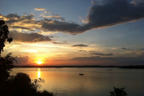 Not too shabby when it comes to sunsets. Photo taken in or around Stung Treng, Cambodia by Stuart McDonald.