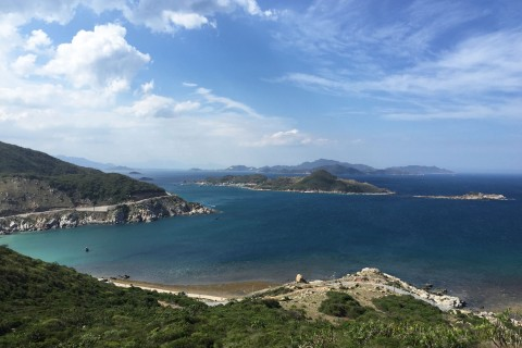 Rather scenic. Photo taken in or around Cam Ranh Bay, Vietnam by Cindy Fan.
