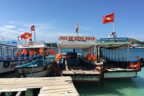 Pick your chariot. Photo taken in or around Cam Ranh Bay, Vietnam by Cindy Fan.