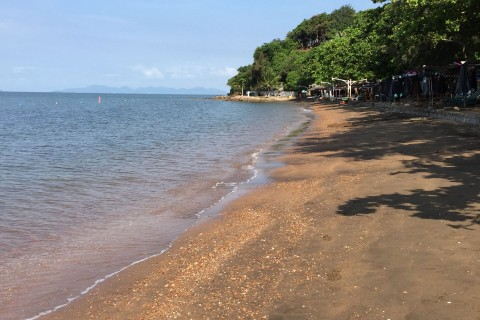 Mui Nai beach scenes. Photo taken in or around Ha Tien, Vietnam by Cindy Fan.