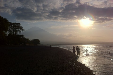 Just another Amed sunset. Photo taken in or around Amed, Indonesia by Stuart McDonald.