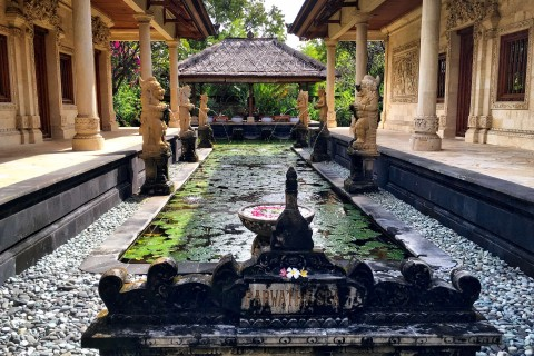 Feel regal at Matahari's higher-end spa, or try one of the more affordable options. Photo taken in or around Pemuteran, Indonesia by Sally Arnold.