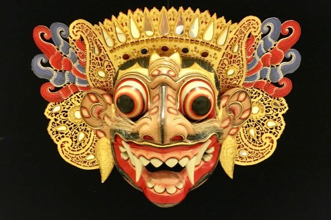 At the outstanding Setia Darma House of Masks. Photo taken in or around Ubud, Indonesia by Sally Arnold.
