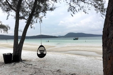 Your seat awaits at Koh Rong Samloem. Photo taken in or around Koh Rong Samloem, Cambodia by Nicky Sullivan.