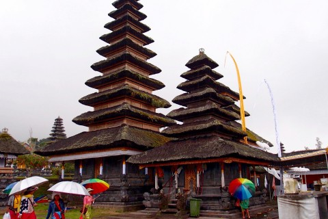 Mother Temple Besakih. Photo taken in or around Sidemen, Indonesia by Sally Arnold.