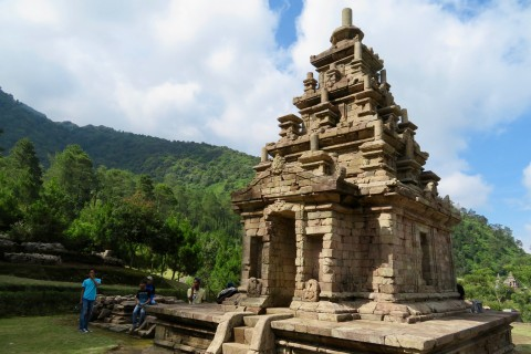 Take a day trip to Candi Gedong Songo. Photo taken in or around Semarang, Indonesia by Sally Arnold.
