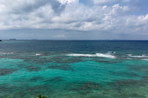 Pretty even in iffy weather. Photo taken in or around Karimunjawa Islands, Indonesia by Sally Arnold.