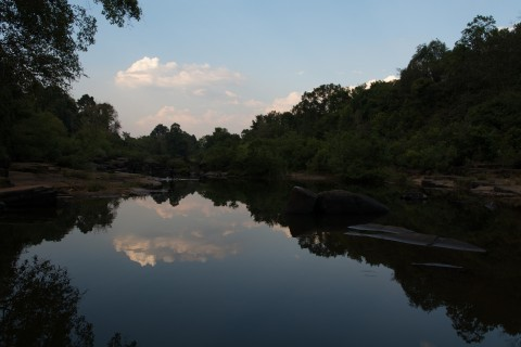 The river. Gorgeous. Photo taken in or around Chi Phat, Cambodia by Nicky Sullivan.