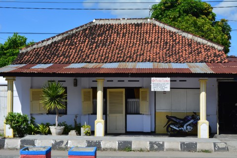 A clean and almost cute town. Photo taken in or around Sumbawa Besar, Indonesia by Stuart McDonald.