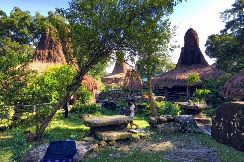 Beautiful Tarung village