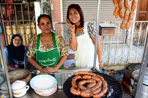 Food is another highlight in charming Songkhla. Photo taken in or around Songkhla, Thailand by David Luekens.