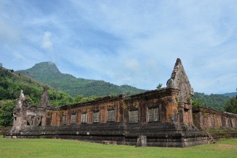 Spectacular setting. Photo taken in or around Wat Phu, Champasak, Laos by Cindy Fan.