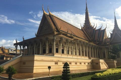 Phnom Penh's Royal Palace.