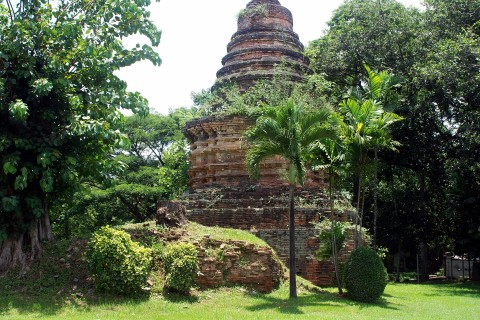 At Wat Suan Dok. Photo taken in or around Lost chedis of Chiang Mai, Chiang Mai, Thailand by Mark Ord.