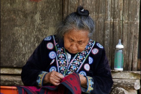 At the Hmong village. Photo taken in or around Doi Suthep and Doi Pui, Chiang Mai, Thailand by Mark Ord.